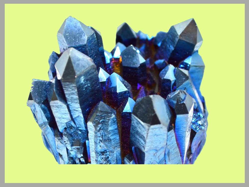 Titanium Aura Quatrz